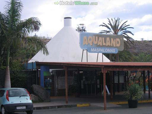 Aqualand Gran Canaria in Maspalomas - Entrance