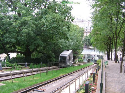 Montmartre Funicular, Paris