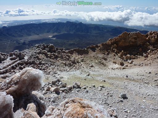 Teide Crater and Las Cañadas Caldera