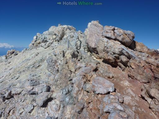 The peak of Teide