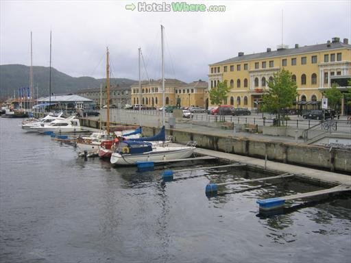 Trondheim Canal Harbour
